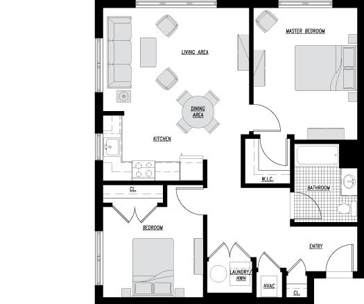 Apartment Unit Type L