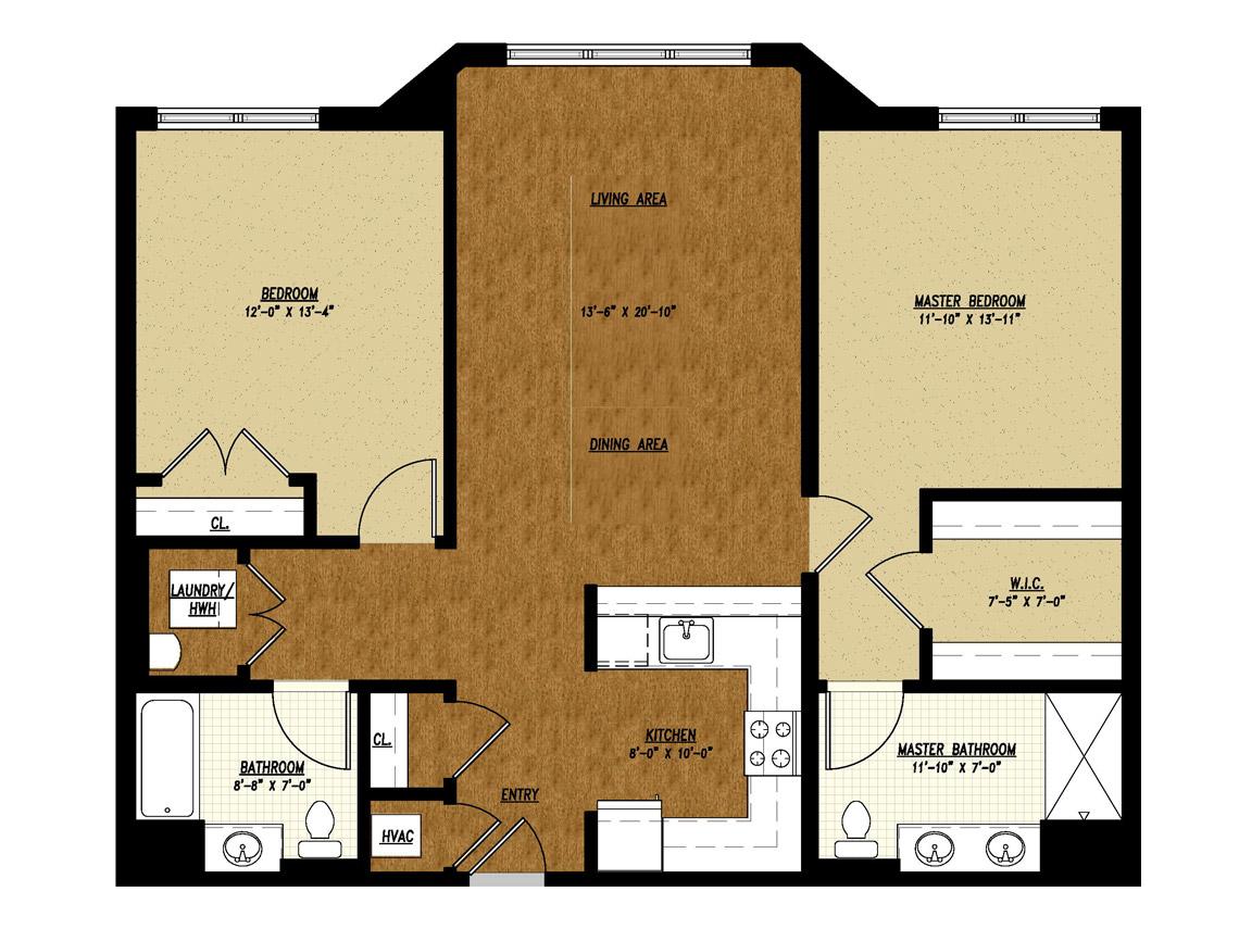 Apartment Unit Type F