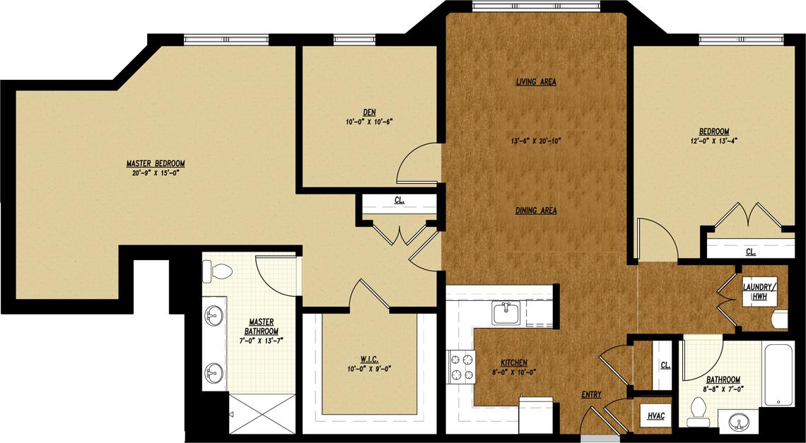 Apartment Unit Type H1